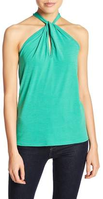 Couture Go Twisted Halter Tank