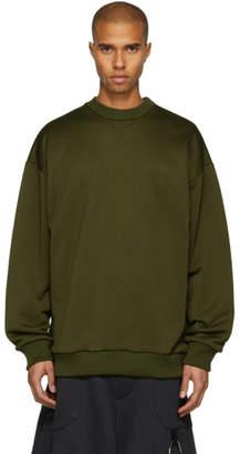 Marques Almeida Khaki Oversized Sweatshirt