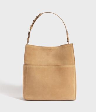 AllSaints Ziggy Suede North South Tote Bag