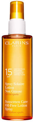 Clarins Sun Care Spray Oil-Free Lotion Moderate Protection SPF 15