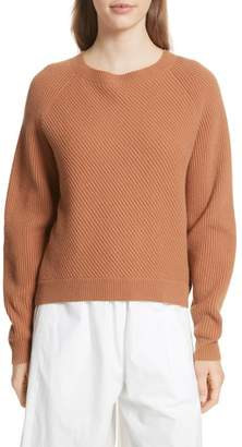 Vince Diagonal Rib Wool & Cashmere Sweater