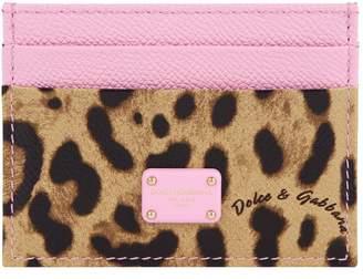 Dolce & Gabbana Grain Leather Card Holder