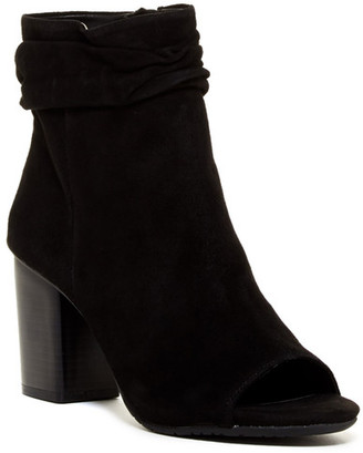 Kenneth Cole Reaction Karina Peep Toe Bootie $119 thestylecure.com