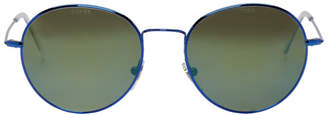 Gosha Rubchinskiy Blue and Green Super Edition Wire Sunglasses