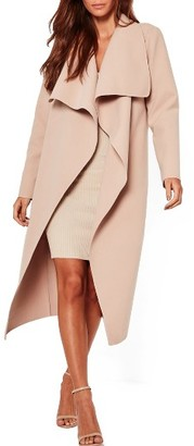 Women's Missguided Oversize Waterfall Duster Coat $72 thestylecure.com