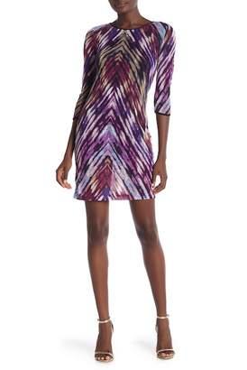 Amelia 3\u002F4 Sleeve Knit Dress