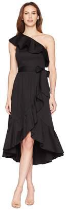 Adrianna Papell One Shoulder Wrap Dress Women's Dress