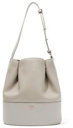 Dagne Dover Ava Leather Bucket Bag