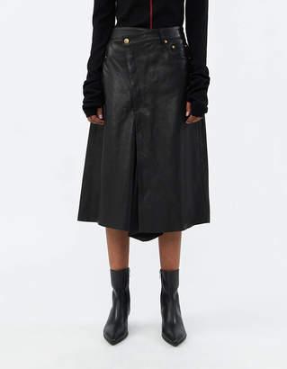 Rika Studios Jean Skirt in Black