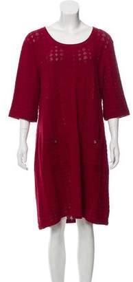 Chanel Knee-Length Knit Dress
