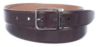 Dolce & Gabbana Lizard Belt