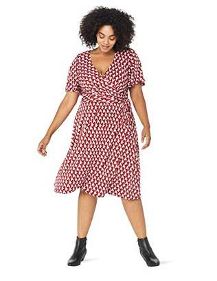Plus Size Jersey Wrap Dresses - ShopStyle