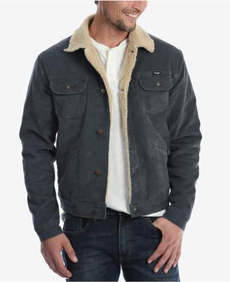 Wrangler Men's Heritage Sherpa Lined Corduroy Jacket