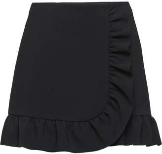 Miu Miu (ミュウミュウ) - Miu Miu ラッフル スカート