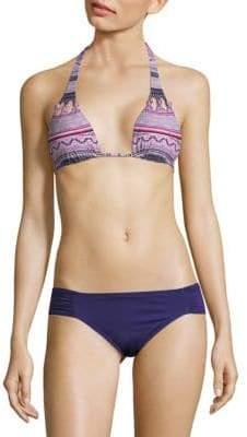 Graphic Bikini Top