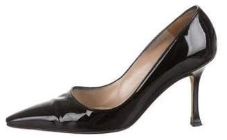 Manolo Blahnik Pointed-Toe High-Heel Pumps
