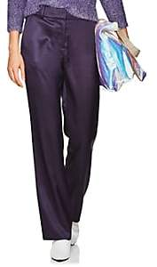 Sies Marjan Women's Tatum Straight Pants - Purple