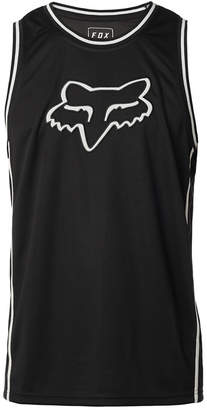 Fox Men's Basketball Logo-Applique Mesh Tank