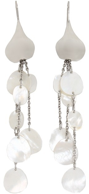 Breil Milano Bloom White Mother Of Pearl Earrings