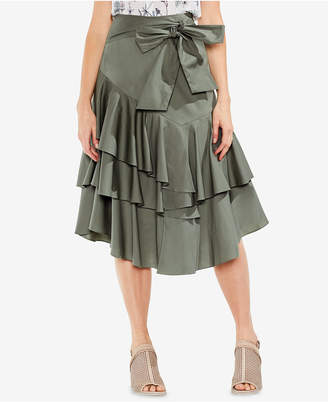 Vince Camuto Ruffled A-Line Skirt