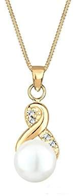 Perlu Women's Silver Necklet of length 45 cm, 0103291418_45