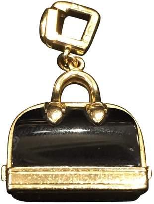 Louis Vuitton Black Yellow gold Pendants