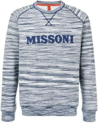 Missoni logo patch sweatshirt