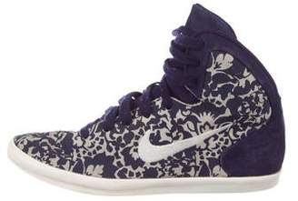 online store 29d9d 46e23 Nike Suede High-Top Sneakers