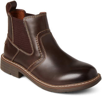 Florsheim Kids Boys) Brown Studio Gr Leather Ankle Boots