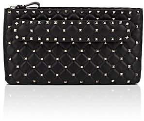 Valentino Women's Rockstud Spike Leather Clutch