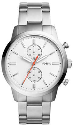 Fossil Chronograph Townsman Stainless Steel Bracelet Watch