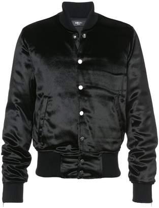 Amiri velvet bomber jacket