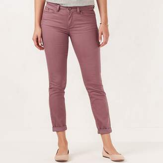Lauren Conrad Women's Love, Lauren Cuffed Ankle Skinny Jeans