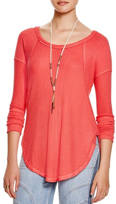 Free People Ventura Thermal Top $68 thestylecure.com