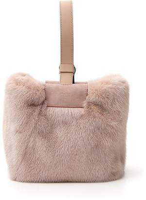 Max Mara Mink Fur Bag