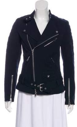 3.1 Phillip Lim Moto Ponte Long Sleeve Jacket