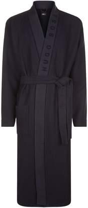 HUGO BOSS Waffle Kimono Robe