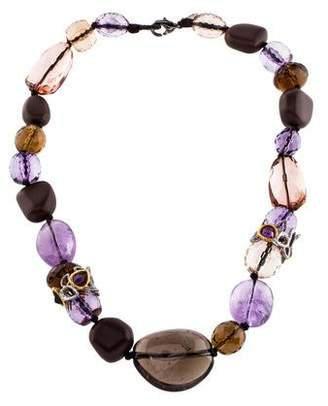 Alexis Bittar Multistone Bead Strand Necklace
