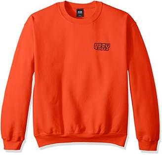 Obey Men's Unwritten Future Crew Neck Sweatshirt