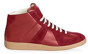 Maison Margiela Men's Replica Mid-Top Sneakers