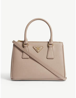 Prada Cipria Pink Galleria Mini Leather Tote Bag