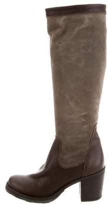 Fiorentini+Baker Round-Toe Knee-High Boots