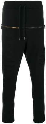 RH45 front zip track pants