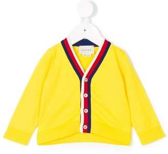 Gucci Kids web detail cardigan