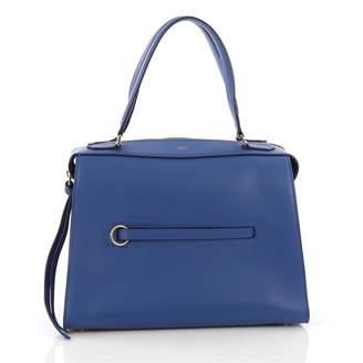 Celine Ring Blue Leather Handbag
