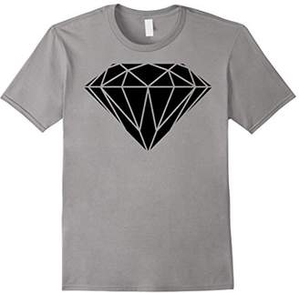 Black Diamond Geometric Graphic T-Shirt