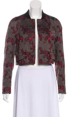Dries Van Noten Embroidered Cropped Jacket