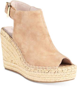 86ee455d9e42 Kenneth Cole New York Women Olivia Espadrille Peep-Toe Wedges Women Shoes