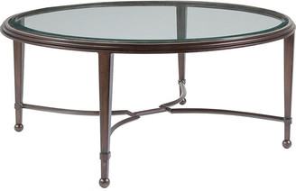 Artistica Sangiovese Round Coffee Table - Antiqued Copper