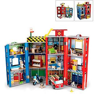 Kid Kraft Everyday Heros Police and Fire Set